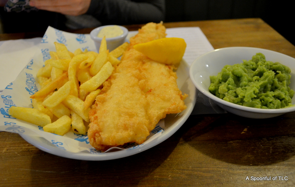 Fish and chips notting hill london