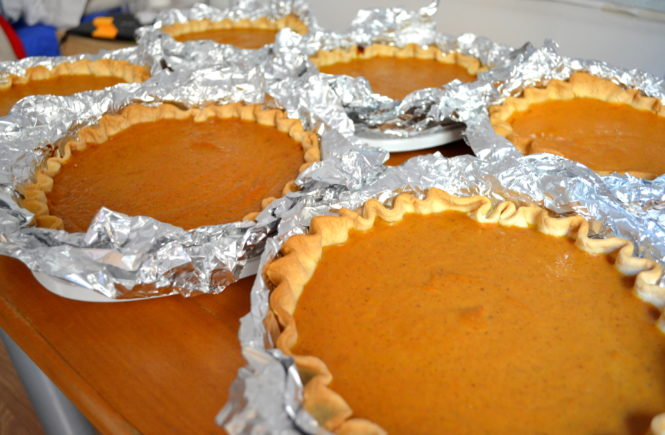 pumpkin pie Bruja's Bakery