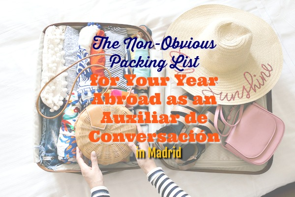 non-obvious packing list